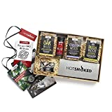 The ULTIMATE BBQ Hot Smoking Gift Set. 1x Large Smoker Box, 1x BBQ Rub Jar, 3x 600ml Wood Chips 1x Recipe Book