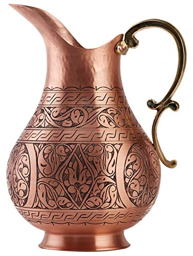 Handmade Copper Pitcher