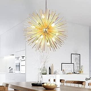 Golden Sputnik Chandelier Ceiling Light Lamp Pendant Lighting Fixture E14 Light