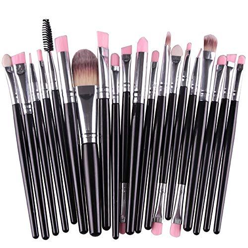Pinceau de Maquillage Pinceau de Maquillage Set Visage Professionnel Ombre à paupières Eyeliner Foundation Blush Pinceau à lèvres Pinceaux à Maquillage Poudre Liquide Crème