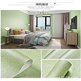 LZYMLA - Papel pintado autoadhesivo impermeable para sala de estar, dormitorio, dormitorio, habitación de los niños, 60 cm x 5 m, color verde