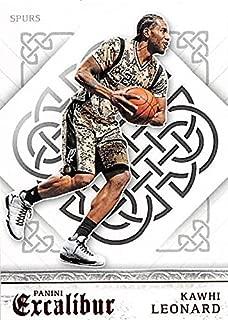 Kawhi Leonard basketball card (San Antonio Spurs) 2016 Panini Excalibur #126
