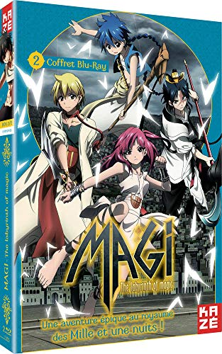 Magi-The Labyrinth of Magic-Box 2/2 [Blu-Ray]
