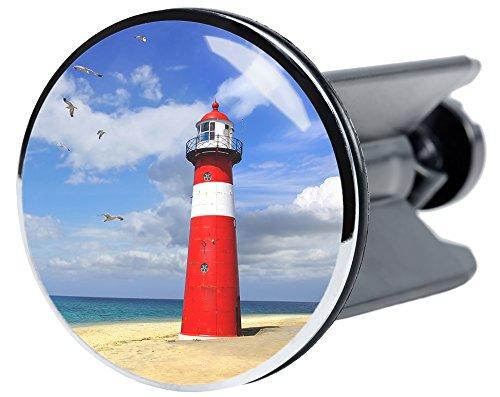 Waschbeckenstöpsel Leuchtturm, passend für alle handelsüblichen Waschbecken, hochwertige Qualität ✶✶✶✶✶