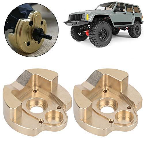 Dilwe RC Schwergewicht, Messing Schwergewicht Ersatz-Upgrade-Teil Kompatibel mit Axial Capra AXI232006 RC Car