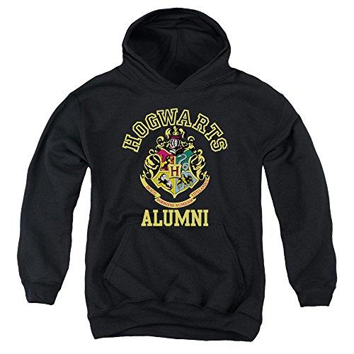 Harry Potter - - Youth Hogwarts Alumni Einbauküche Hoodie, Large, Black