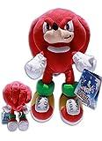 Knuckles 32cm Sonic X Muñeco Peluche Videojuego Sega Hedgehog Rojo Gran Calidad