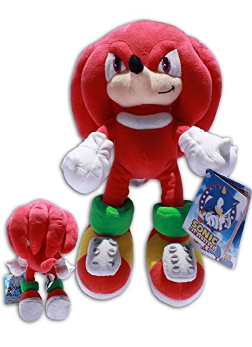 Knuckles 32cm Sonic X Muñeco Peluche Videojuego Sega