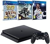 Pack PS4  + Destiny 2 + FIFA 18 + Qui es-tu?