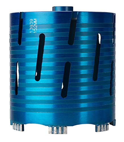 OX Tools BX10-152 Spectrum Superior Superfast Helix Dry Diamond Core Drill, Blue, 152mm