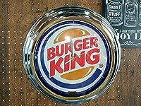 ネオン時計/ネオンクロック バーガーキング BURGER KING 壁掛け時計