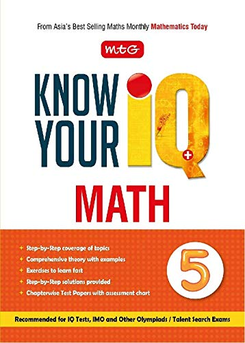 Know your IQ Maths Class-5