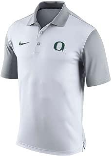University of Oregon Ducks White Nike Dri Fit Pre-Season Polo Shirt Small