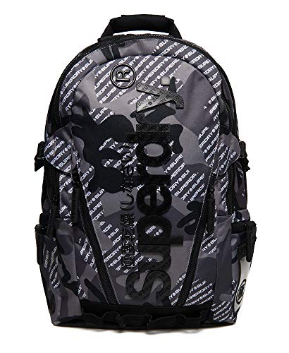 Superdry Tarp Camo Logo Backpack Grey