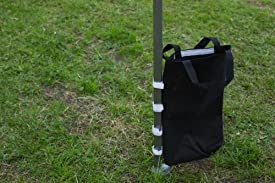 Weight bags to attach to the legs of your gazebo to help anchor it down and add strength