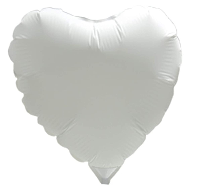 Lot 10 pcs. DIY Photo Balloons Kit Round Inkjet Printing Heart 18cm