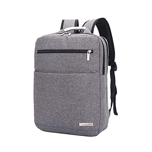 HAOHAOCHENG-WL Schoudertas voor heren eenvoudige 15-inch zakelijke laptoptas met grote capaciteit reisrugzak Schooltas comfortabel