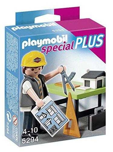 PLAYMOBIL Especiales Plus - Arquitecto con Mesa de Trabajo (5294)