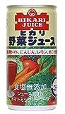 ヒカリ 野菜ジュース 食塩無添加 190g
