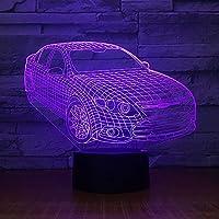Dtcrzj Ooスモールナイト3Dランプ新しい3Dナイトライトアクリル照明クリエイティブな雰囲気は子供ランプを導きました