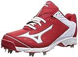Mizuno Usa Chaussures de baseball à 9 pointes ADV Swagger pour homme, Rouge (rouge/blanc), 47 EU