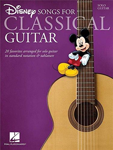 Disney Songs - Classical Guitar. Für Klassische Gitarre, Gitarrentabulatur