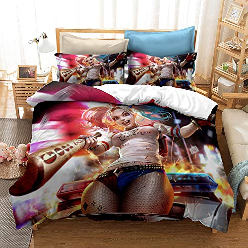 51bNmbERUYL Harley Quinn Bed Sets