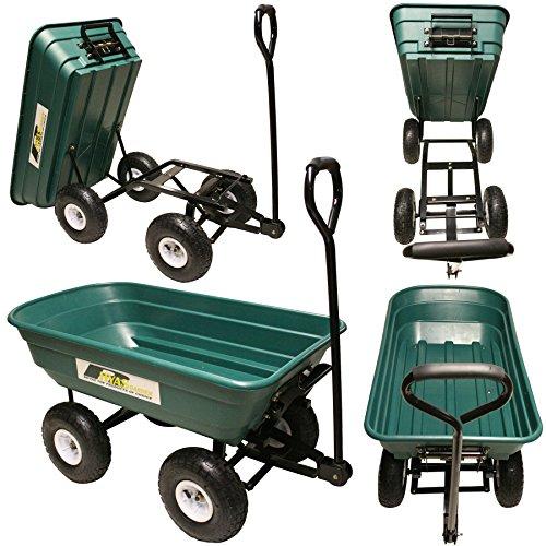 Garden Tipping Trolley Cart Wheelbarrow
