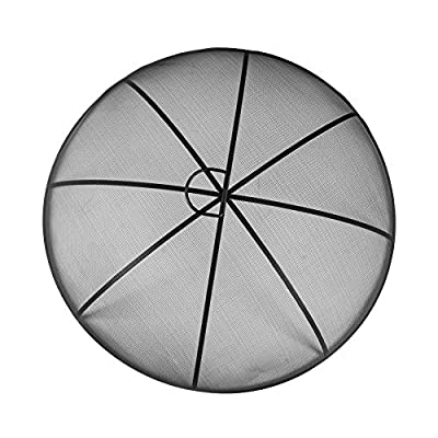 Harbour Housewares Round Firepit Dome - Large Classic Industrial Style Metal Dome - 73cm by Harbour Housewares