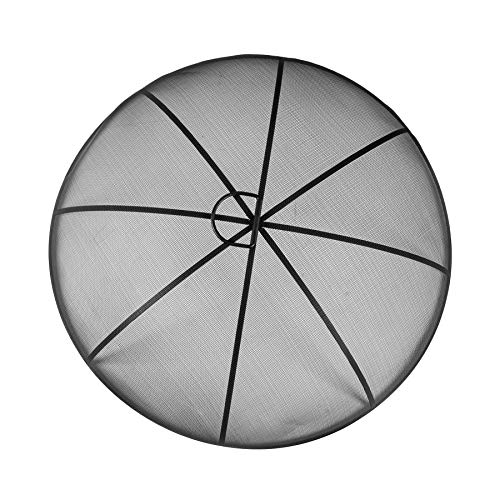 Harbour Housewares Round Firepit Dome - Large Classic Industrial Style Metal Dome - 73cm