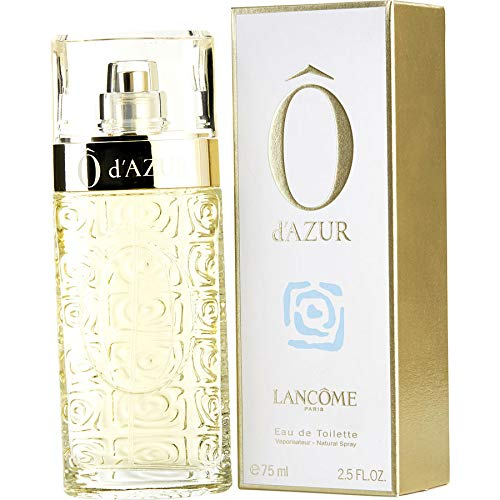 O d'Azur by Läncóme Eau De Toilette Spray for Women 2.5 OZ./ 75 ml.