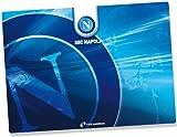 Techmade TM-SKIN1710-02NA Laptop Skin Pellicola Adesiva Protettiva per Portatile, Dimensioni Universali, Adattabili da 17' a 10', Bianco/Blu/Azzurro
