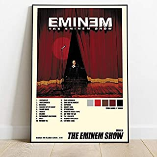 Wall Art Home Decor Eminem Slim Shady Canvas Gift Birthday Vintage Poster Fan Eminem Custom Poster Gift Fan Eminem Poster