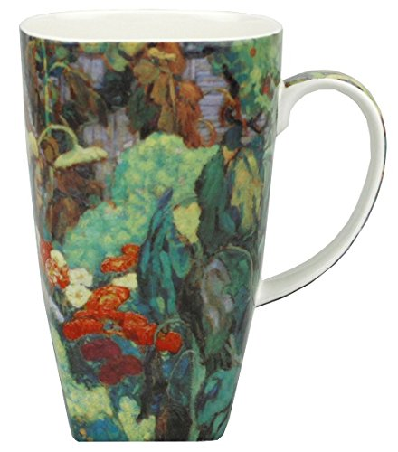 McIntosh Canadian Master - J.E.H MacDonald Tangled Garden Fine Bone China (19.6 oz) Grande Mug in Matching Gift Box