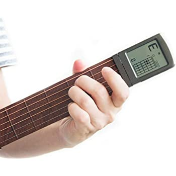 Starmood Digital Handy Guitar Chord Trainer Mini 6 Fret ...