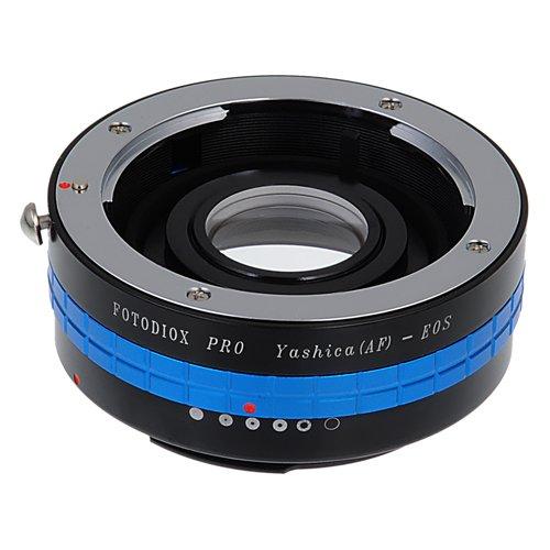 Fotodiox Pro–Adattatore di supporto per obiettivo Yashica AF per fotocamera Canon EOS, come EOS 7D, 60D, 5D mark III