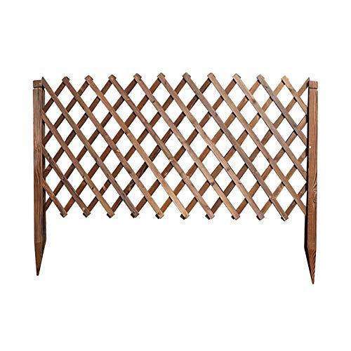 Gartenzaun, Erweitern von Gitterplatten Gartenzaungrenze, Upgrade TRELLIS für Kletterpflanzen Outdoor-Partition dekorativ (Size : H135CM)