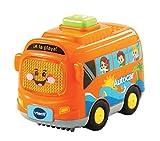 VTech- Mar el autocar TutTut Bólidos Vehículo interactivo con voz, música y efectos de sonido, incluye botón sorpresa, Multicolor (80-516722) , color/modelo surtido