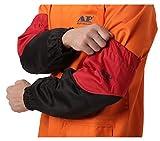 Manicotti protettivi del braccio del lavoratore Manicotti in cotone resistente alla fiamma per saldatura ad arco Taglio al plasma 46 cm 18 pollici Manicotti di saldatura