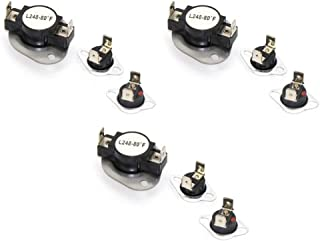 fits Maytag Admiral LA1053 Thermostat Fuse Limit Kit LA-1053 3 Pack