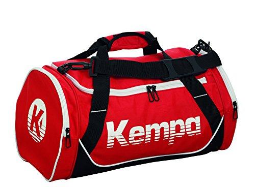 Kempa Sporttasche-200489701 Sporttasche, rot/Schwarz/Weiß, 45 cm