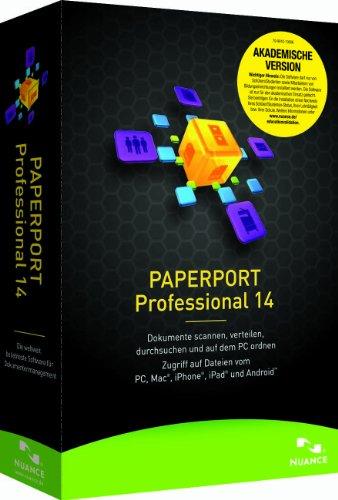 Nuance Paperport 14 Professional Akademische Version