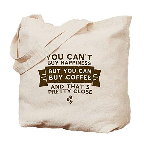 CafePress–Kaufen Kaffee–Leinwand Natur Tasche, Reinigungstuch Einkaufstasche Tote S khaki