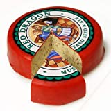 Red Dragon Welsh Cheese- Whole Cheese Wheel (4.5 pound) - ged for three months, made from cow's milk, and is vegetarian