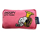 SNOOPY with Music スヌーピー マウスピースポーチ 限定品《コットンキャンディピンク》 (チューバ)