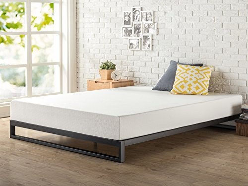 Zinus Trisha 7 Inch Heavy Duty Low Profile Platforma Bed Frame / Mattress Foundation / Box Spring Optional / Wood Slat Support, Full