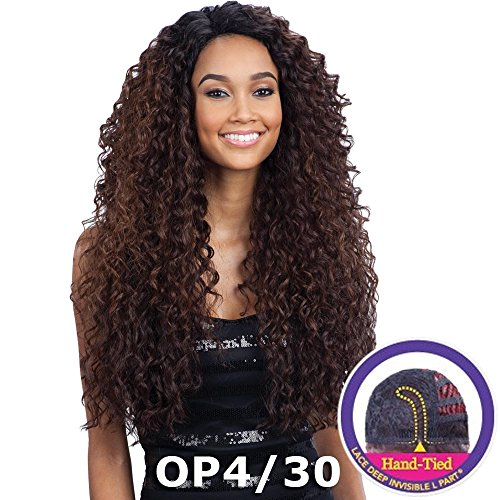 FreeTress Equal Lace Deep Invisible'L' Part Lace Front Wig - KITRON (OP27)