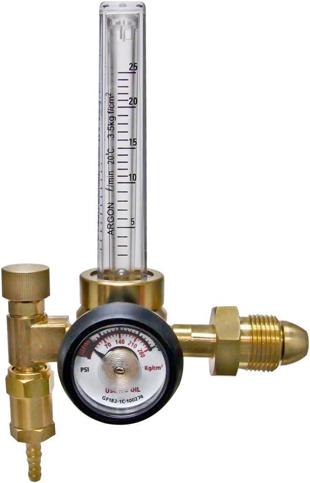Ameriflame Sale item RF2480-580 Argon Flowmeter Regulator Cheap bargain Single Stag with