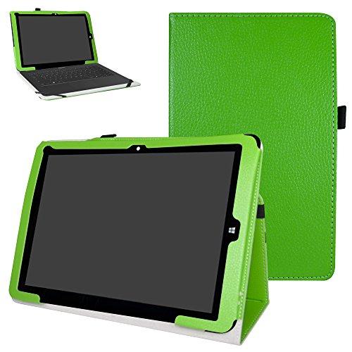 Mama Mouth Chuwi hi12 Custodia, Slim Sottile di Peso Leggero con Supporto in Piedi Caso Case per 12  Chuwi Hi12 Windows 10 & Android 5.1 Dual System Tablet PC,Verde