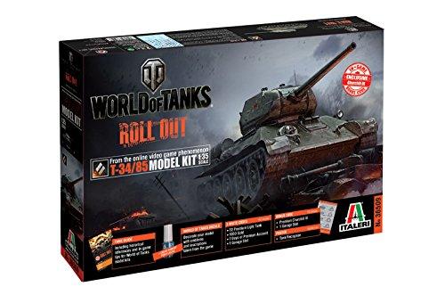 Italeri - I36509 - T-34/85 World of Tanks